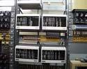 4 vyhodnocovací části instalované do stojanu