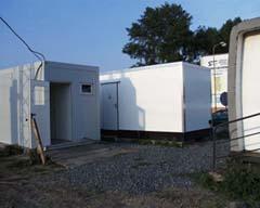 Kontejner, ve kterém je umístěno zařízení MOZAS